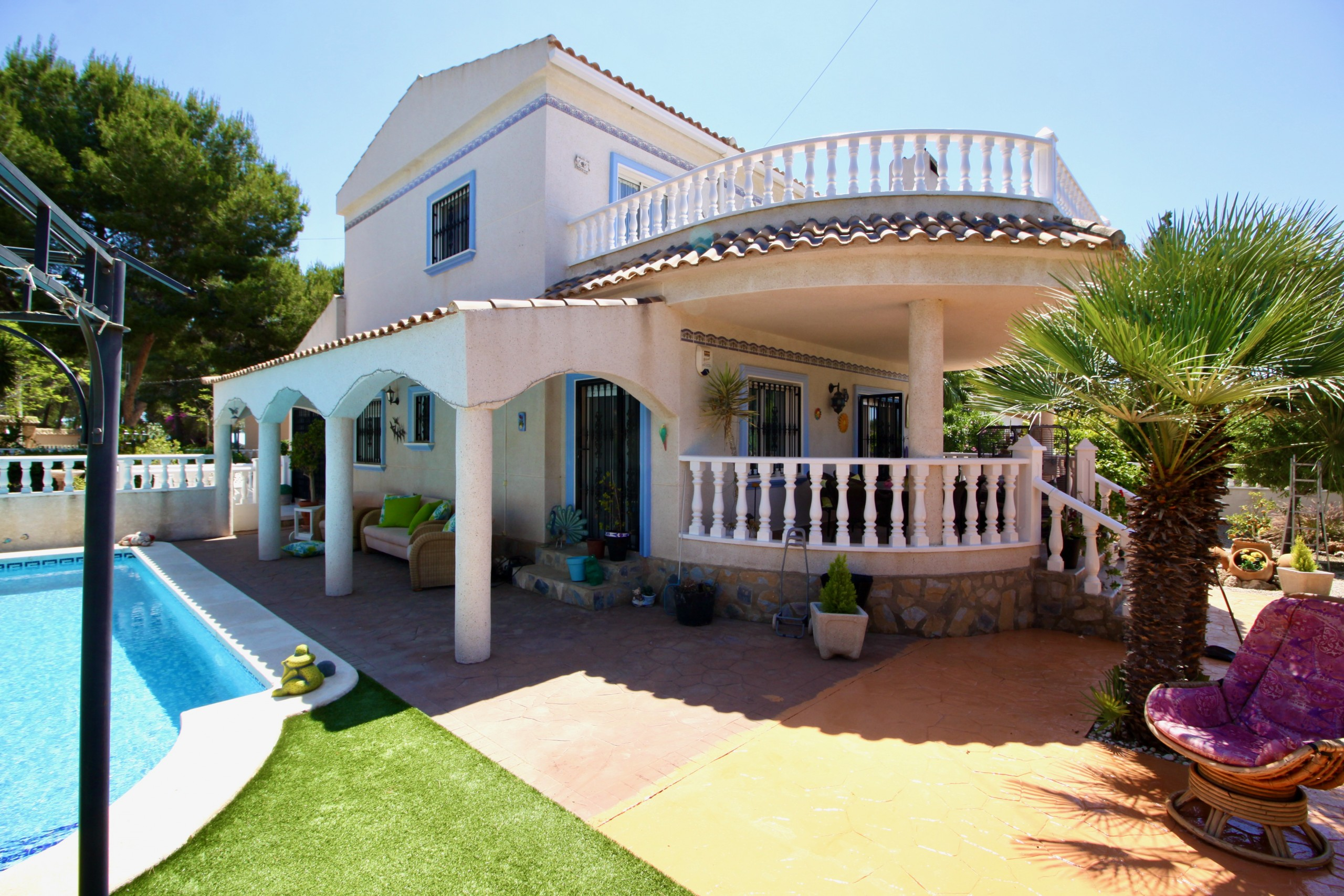 Ref:PIP160 Villa For Sale in Pinar De Campoverde
