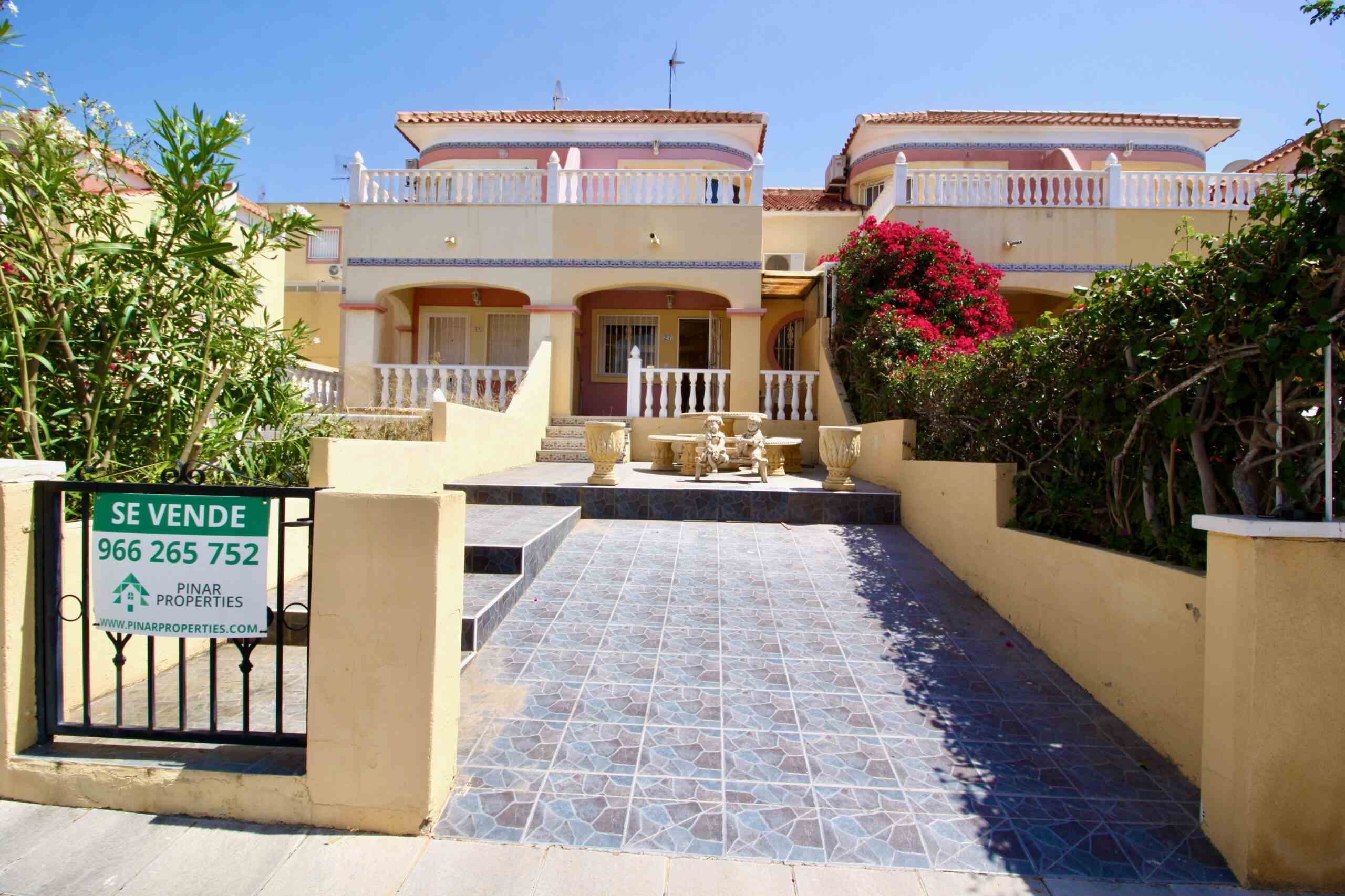 Ref:PIP240 Townhouse For Sale in Pinar De Campoverde